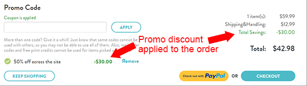 Past Snapfish Coupon Codes