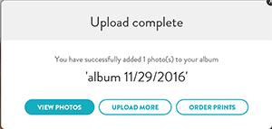 Upload photos to your account – Snapfish Help